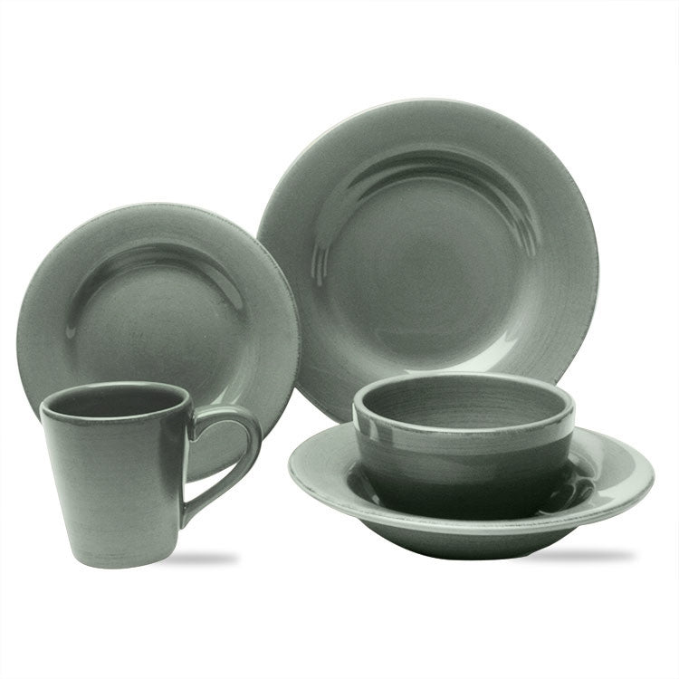 Slate Blue Sonoma 20-Piece (4 x 5-Piece) Place Setting for 4 - SAVE 20%