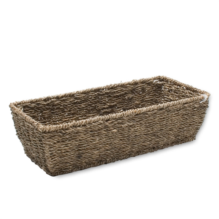 Small Rectangular Seagrass Basket