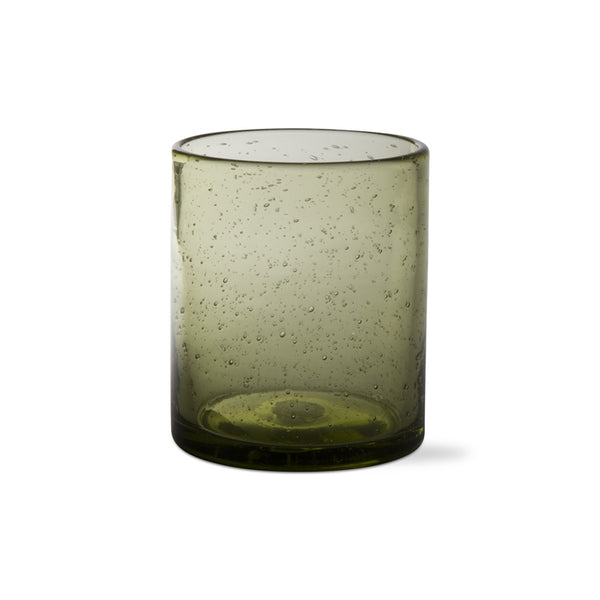 Foliage Bubble Glass Double Old Fashioned, Set of 6