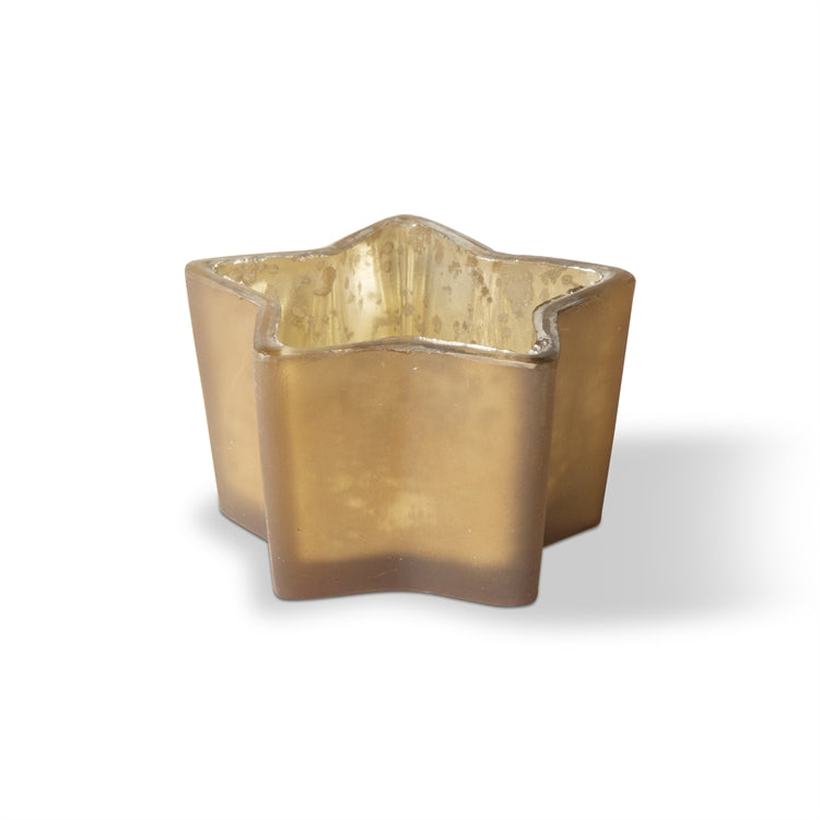Star Tealight Holder, Gold