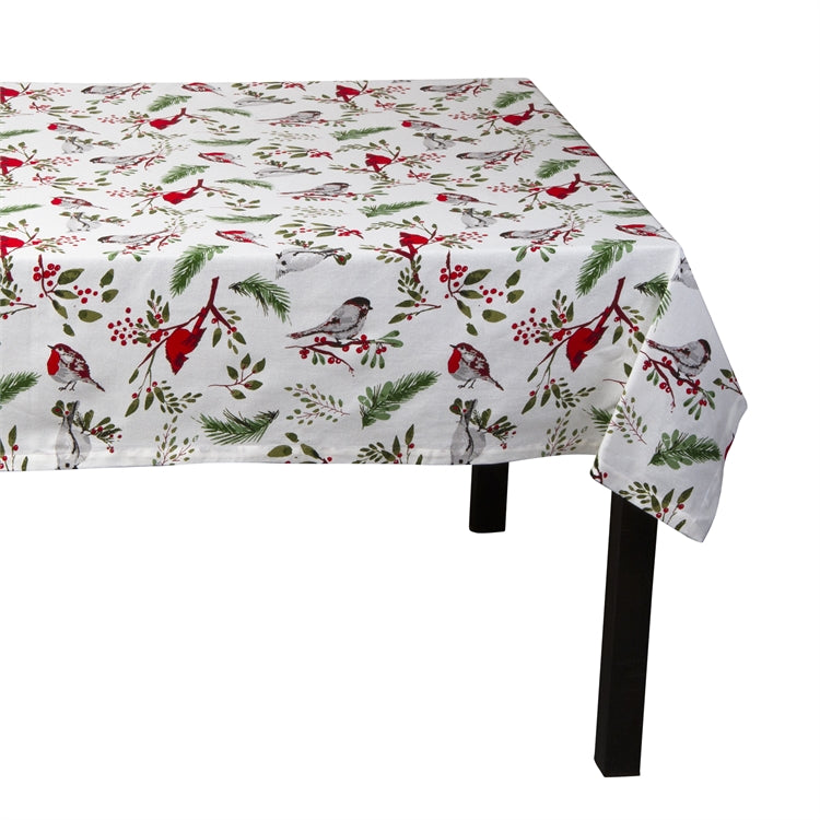 Birds and Berries 60x84 Tablecloth