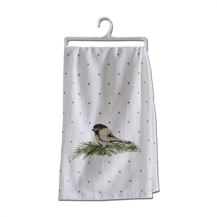 Chirp Flour Sack Dishtowel