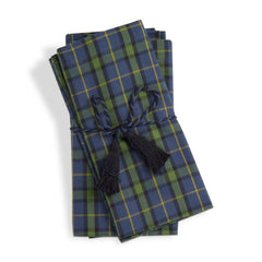 Into The Woods Plaid Napkins, Set of 4