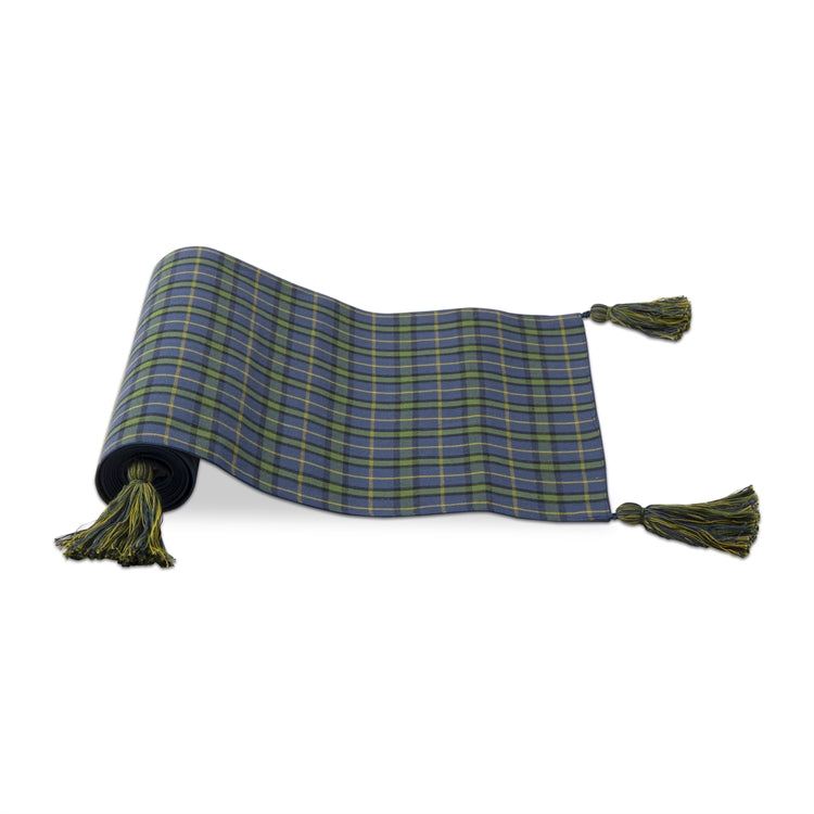 Into The Woods Plaid Runner