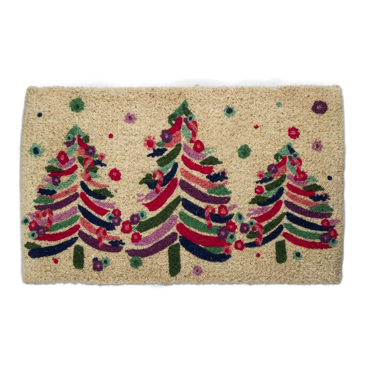 Bright Trees Coir Mat