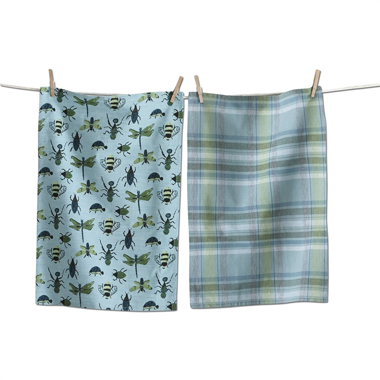 Bugs Dishtowels, Set of 2