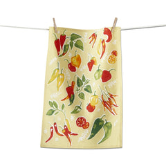Chilli Peppers Dishtowel