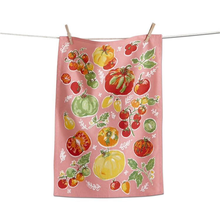 Tomatoes Dishtowel