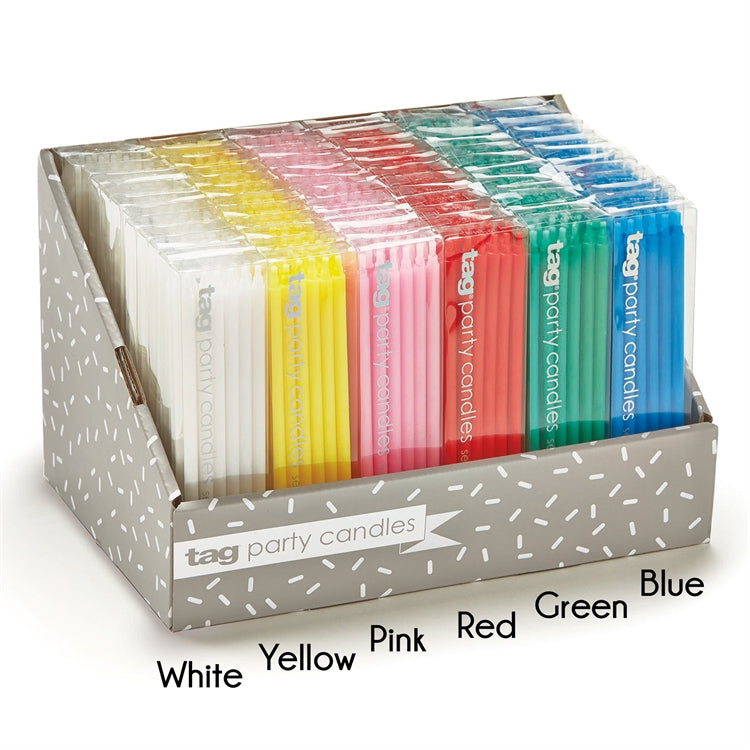 "6"" Party Candles, Set of 12"