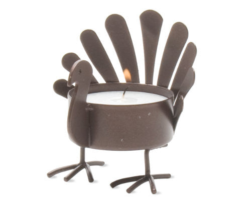 Standing Turkey Tealight Holder