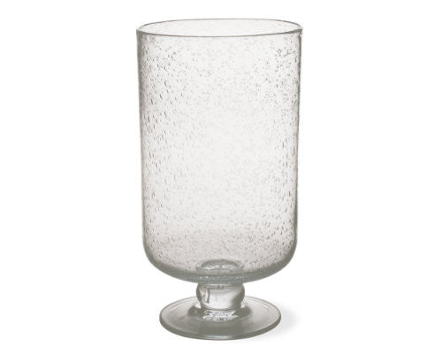Clear Bubble Glass Large Hurricane -Tag