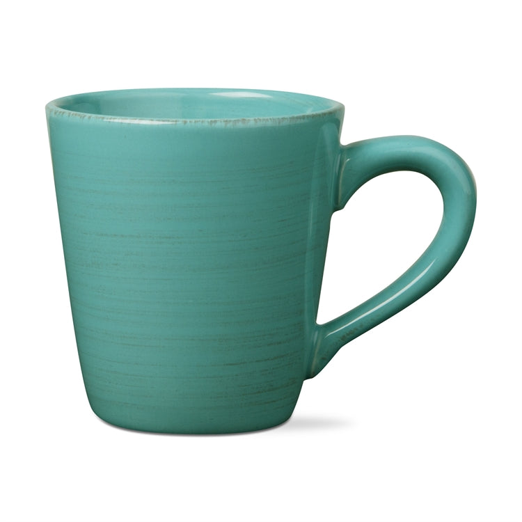 Aqua Sonoma Mugs, Set of 4