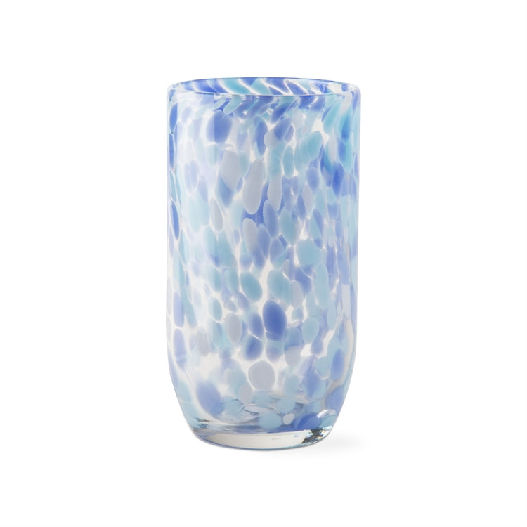 Confetti Tumblers, Light Blue, Set of 6