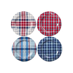 Jessie Melamine Dinner Plates, Set of 4