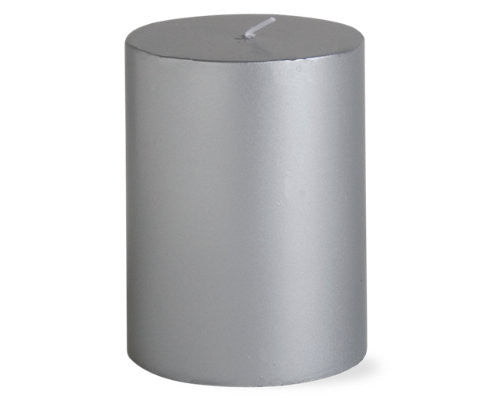 "3"" x 4"" Silver Color Candle -Tag"