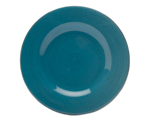 Turquoise Sonoma Dinner Plate -Tag