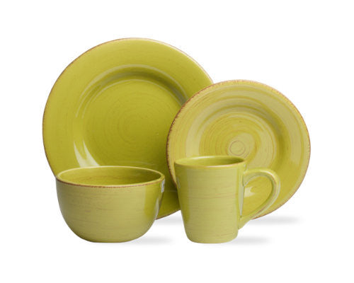 Apple Green Sonoma 4-Piece Place Setting -Tag