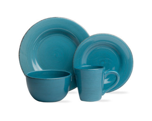 Turquoise Sonoma 4-Piece Place Setting -Tag