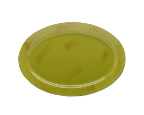 Apple Green Sonoma Serving Platter -Tag