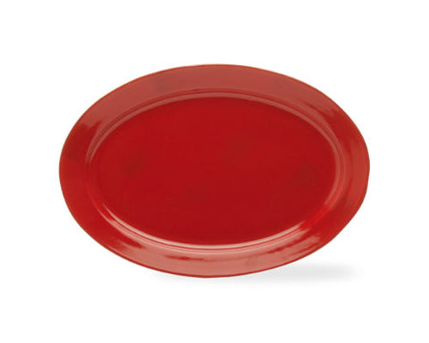 Red Sonoma Serving Platter -Tag