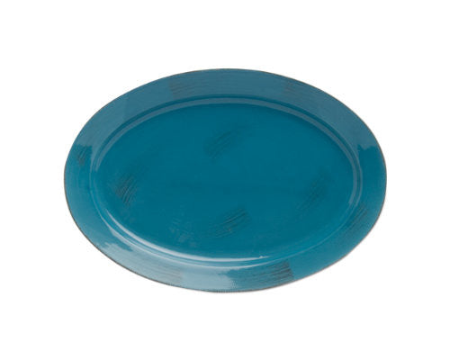 Turquoise Sonoma Serving Platter -Tag