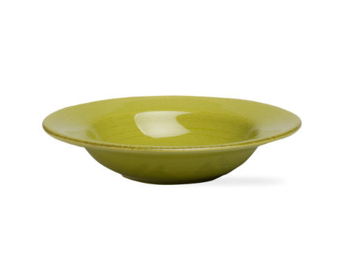 Apple Green Sonoma Rimmed Bowl -Tag