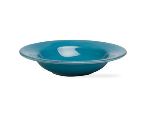 Turquoise Sonoma Rimmed Bowl -Tag