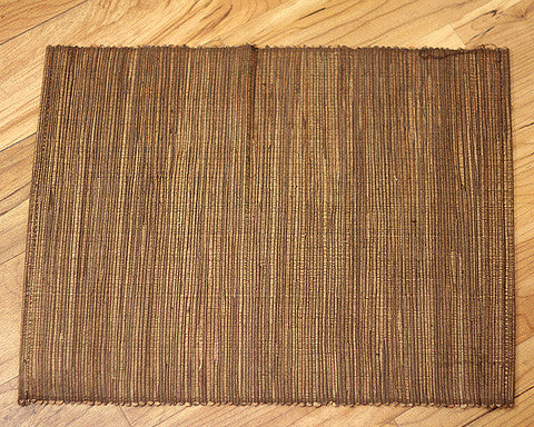 Chocolate Water Hyacinth Placemat