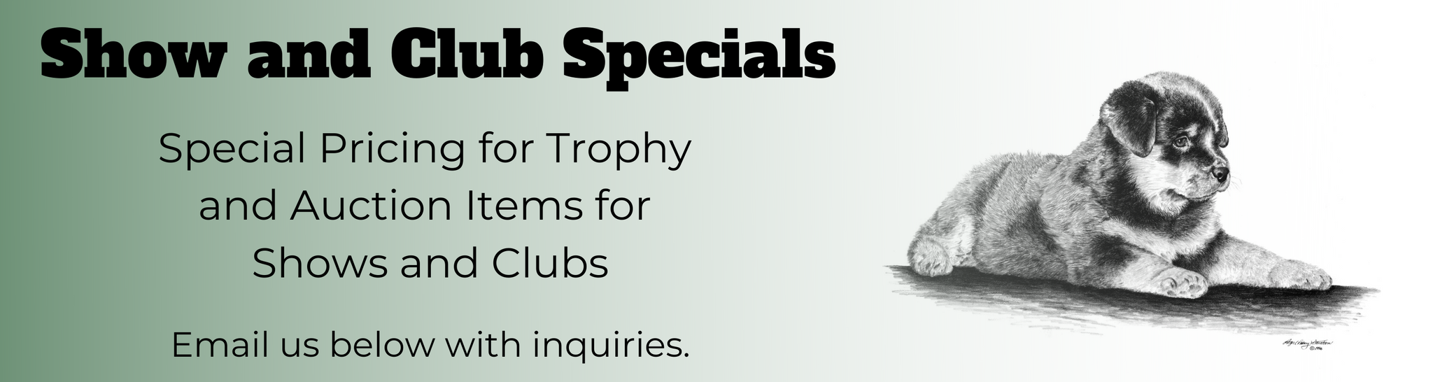 Show and Club Specials