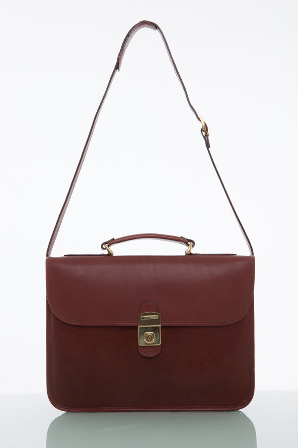 Cathy Prendergast Irish Designer Leather Handbags - Oscar Briefcase