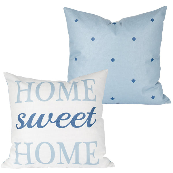 """Home Sweet Home"" 17"" Decorative Pillow"