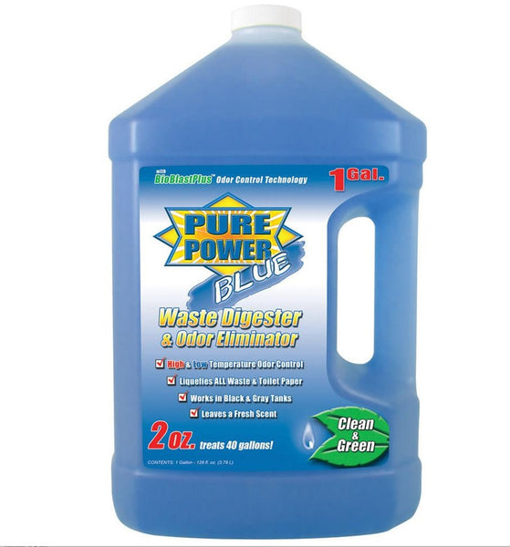 Pure Power Blue Waste Digester and Odor Eliminator