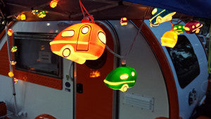 Retro RV String Camper Lights
