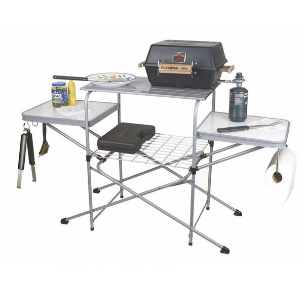Camco Aluminum Grill Table