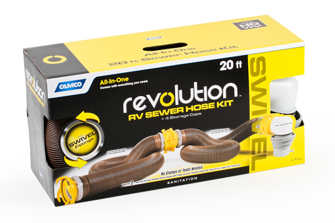 Revolution 20ft Swivel RV Sewer Kit