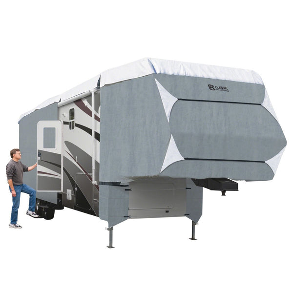 "PolyPRO™ 3 5th Wheel & Toy Hauler Cover 33'–37'L, 130"" Max Height"