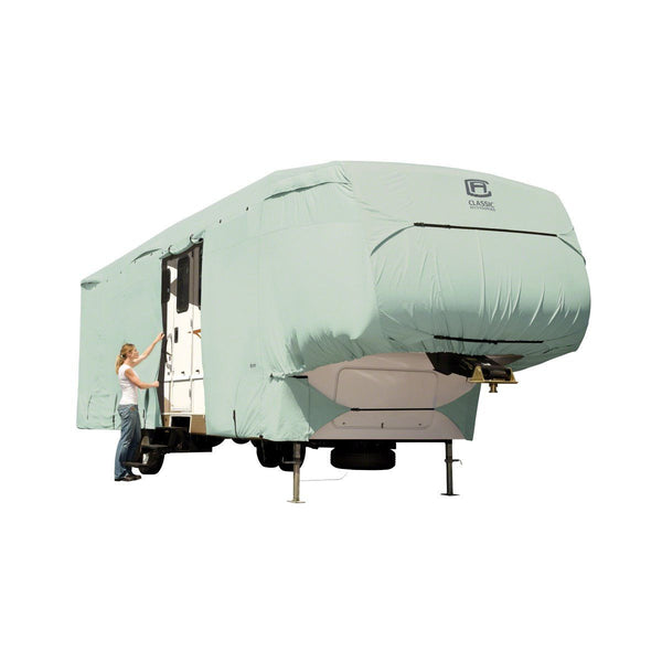 "Limited Edition RV PermaPRO 5th Wheel and Toyhauler Covers 33'–37'L,  122"" Max Height"