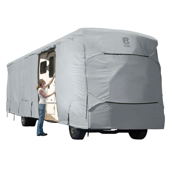 "PermaPRO™ Class A RV Cover 30'-33' L, 140"" Max Height"