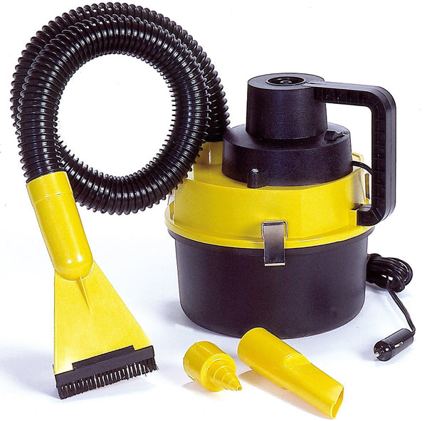 12V Wet/Dry 1-Gallon Canister Vacuum