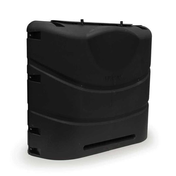 20 lb Heavy Duty Double Propane Tank Cover - Black