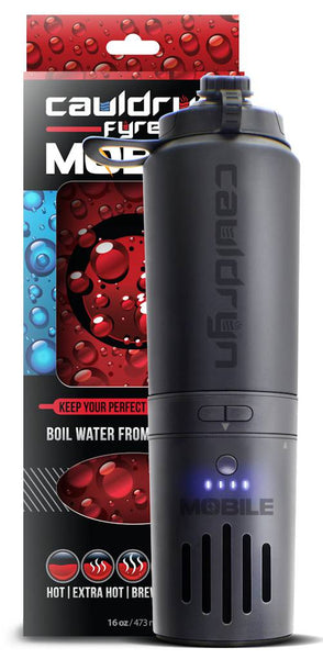 Cauldryn Fyre Mobile Heated Water Bottle