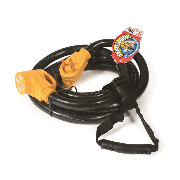 Camco 50 Amp Power Grip 15' Extension Cord