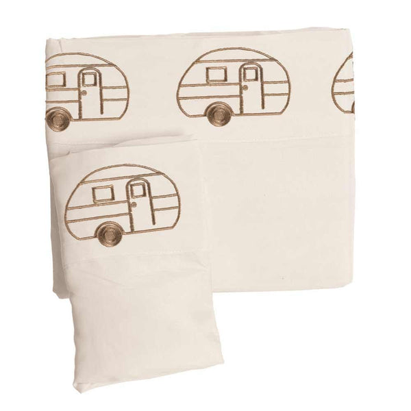 Vintage RV Sheet Set