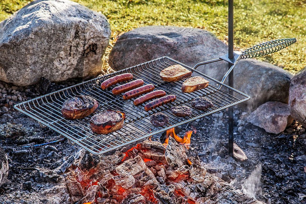 Stake & Grill Campfire Rack