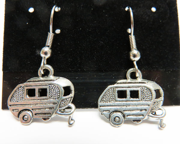 Travel Trailer Earrings