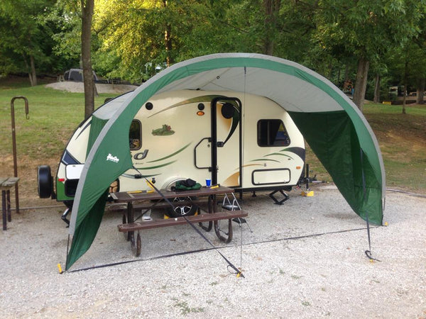 Portable Rv Awning Covers : R pod trailer shade awning rv supply shop