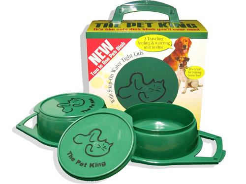 Pet King Large Travel Pet Dish