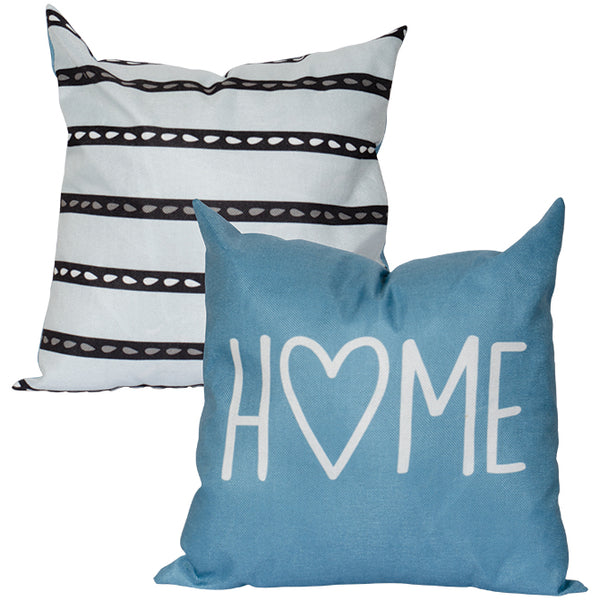 """Heart Home"" 17"" Decorative Pillow"