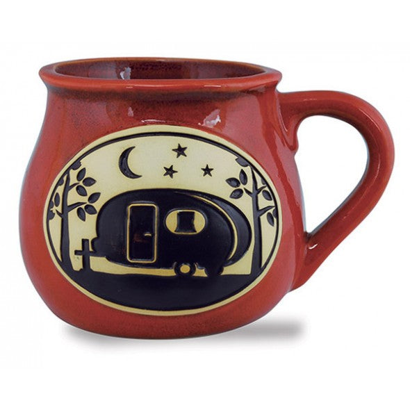 Bean Pot Mug with Camper