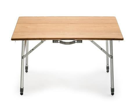 Camco Folding Bamboo/Aluminum Table